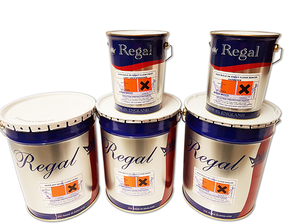 Two Pack Epoxy Floor Paint Bundle 2 From Regal Paints