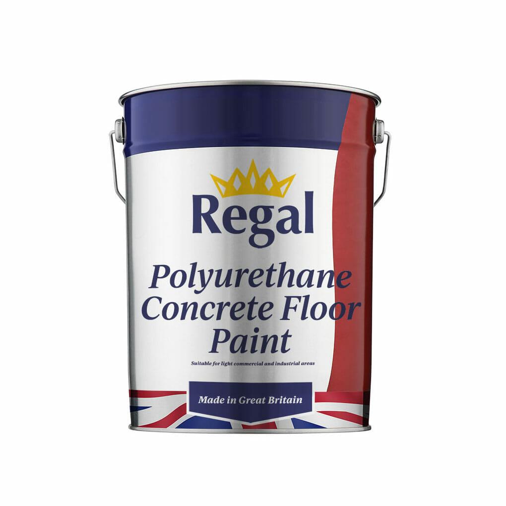 Polyurethane Concrete Floor Paint 20L White