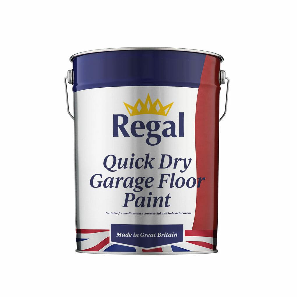 Quick Dry Garage Floor Paint 20l White