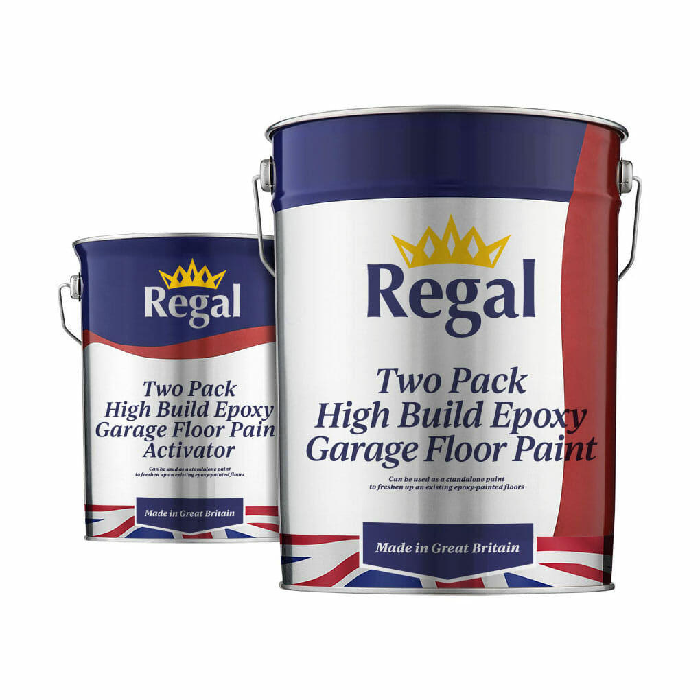 Two-Pack High Build Epoxy Garage Floor Paint 20l White