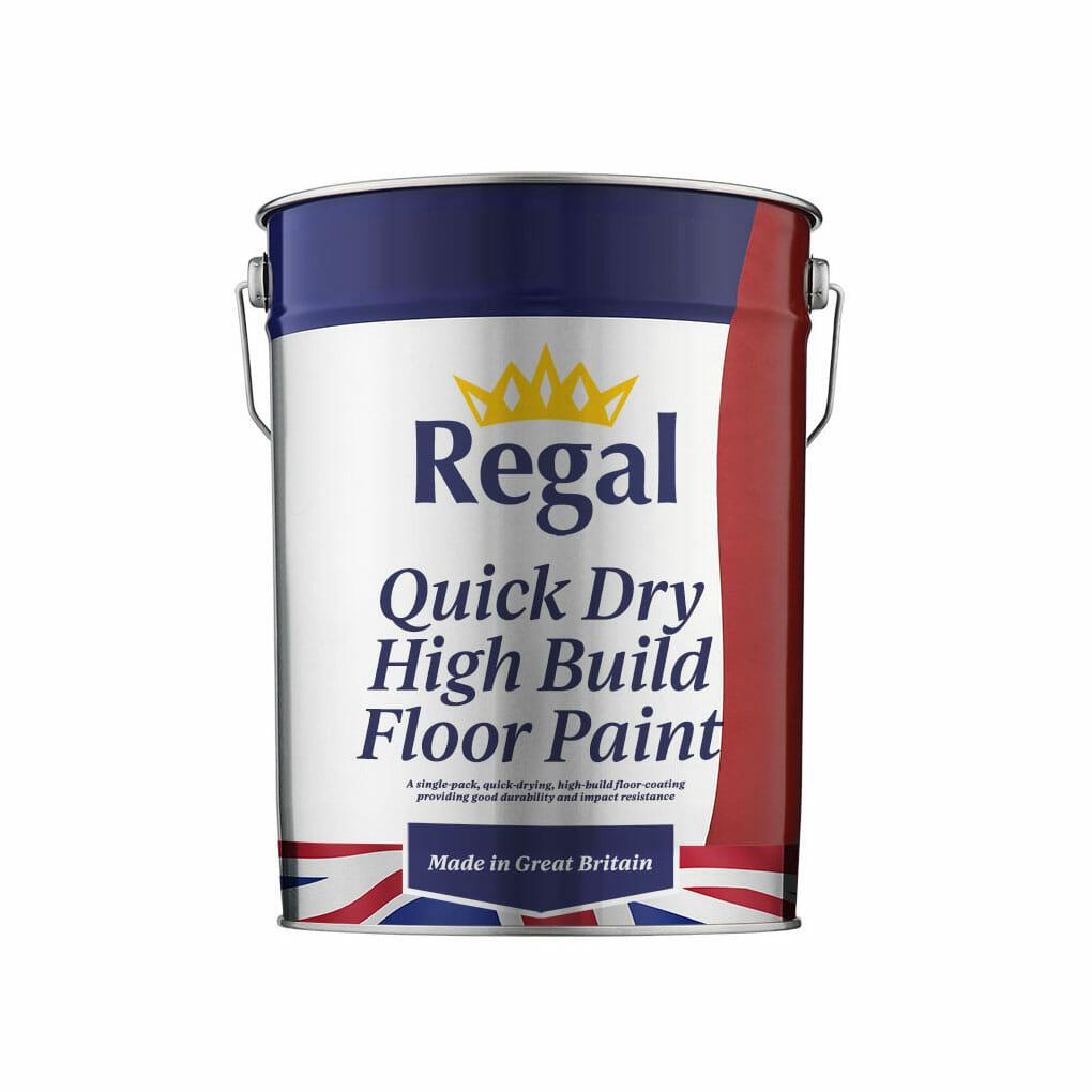 Quick Dry High Build Floor Paint 20l White