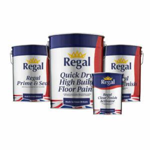 Single Pack Floor Paint Bundle 20L White