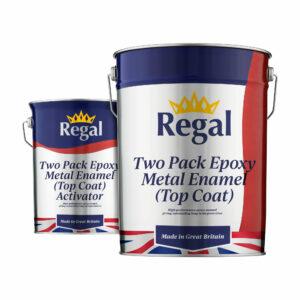 Two-Pack Epoxy Metal Enamel