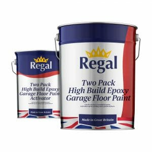 Two-Pack High Build Epoxy Garage Floor Paint