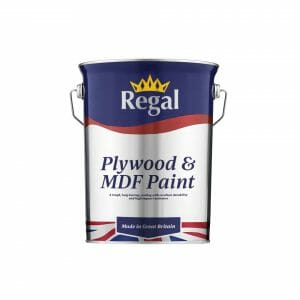 Plywood MDF Paint 5 litre WHITE