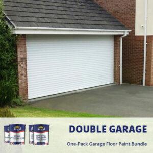 One Pack Garage Floor Paint Double Garage Bundle