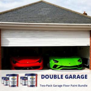 Double Garage Two Pack Garage Floor Paint Bund