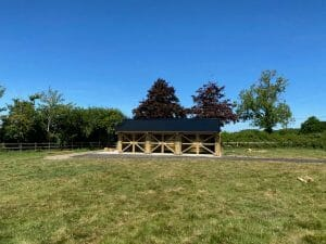 Barn Conversions to Garage - Exterior View