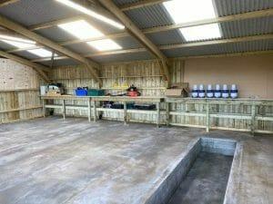 Barn Conversions to Garage - Floor Well