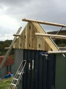 Container Repurposing - Roof